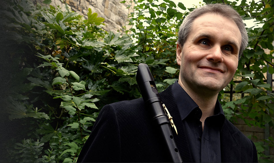James Risdon with recorder