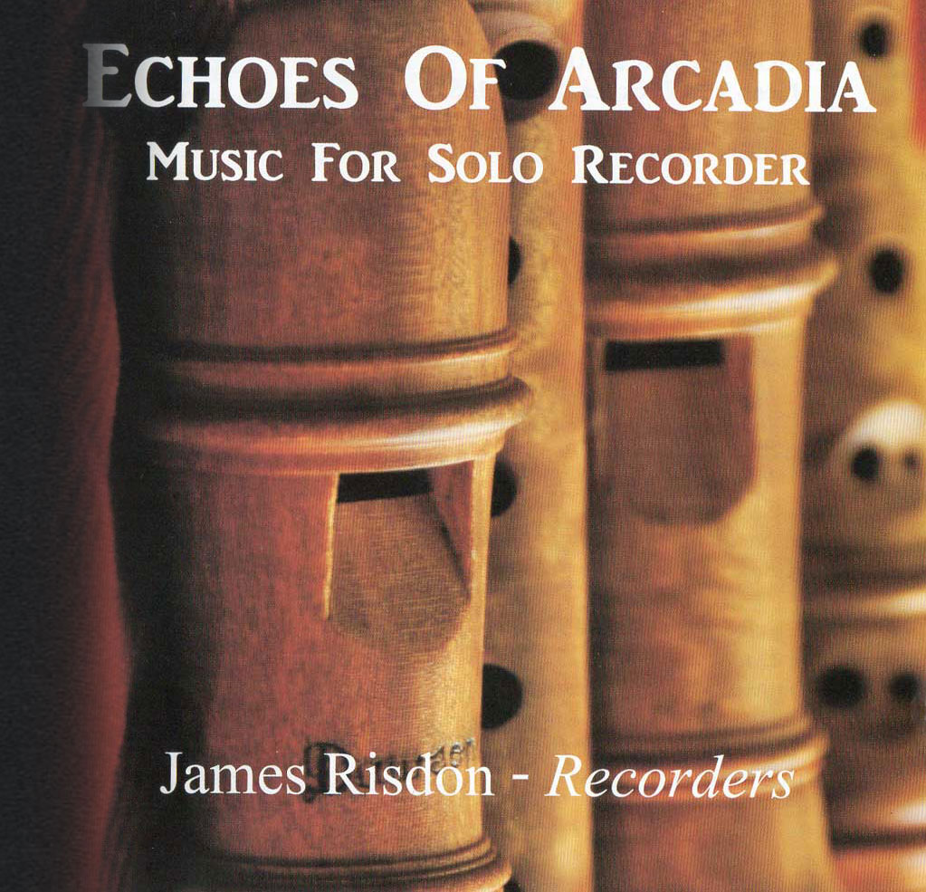 Echoes of Arcadia CD Front Sleeve